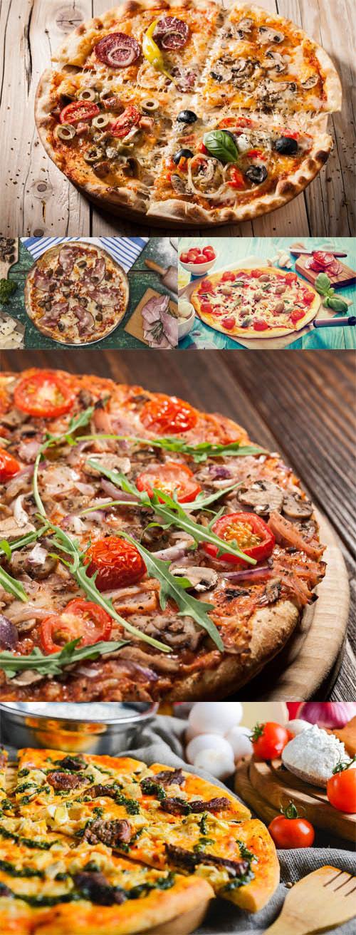 مجموعه 5 عکس با کیفیت پیتزا در سایز 7000x4660