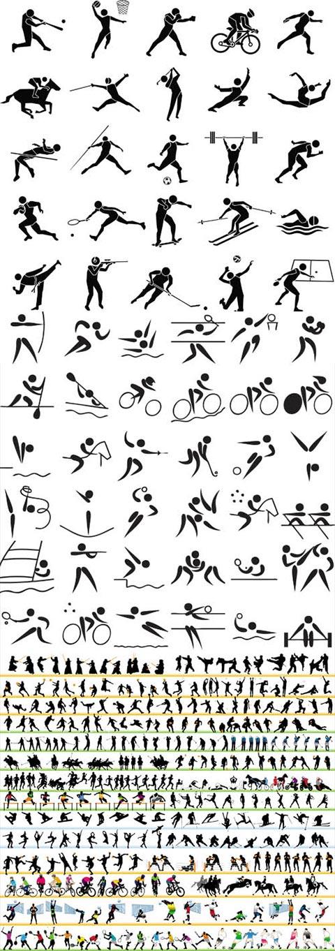 مجموعه بیش از 500 کاراکتر ورزشی AI و TIF