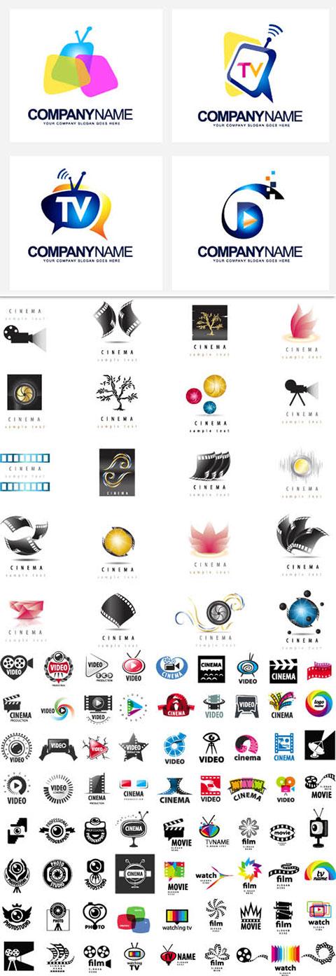 مجموعه لوگو عکاسی و تصویربرداری AI و TIF